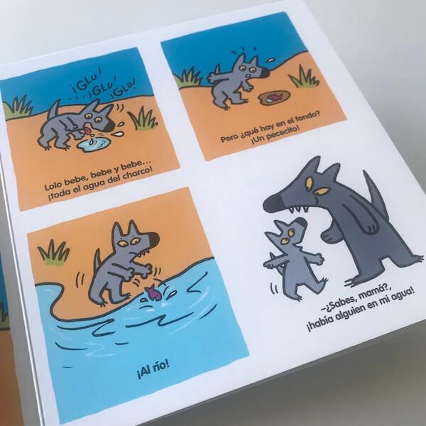 El lobo Lolo. Un lobito muy curioso (3)