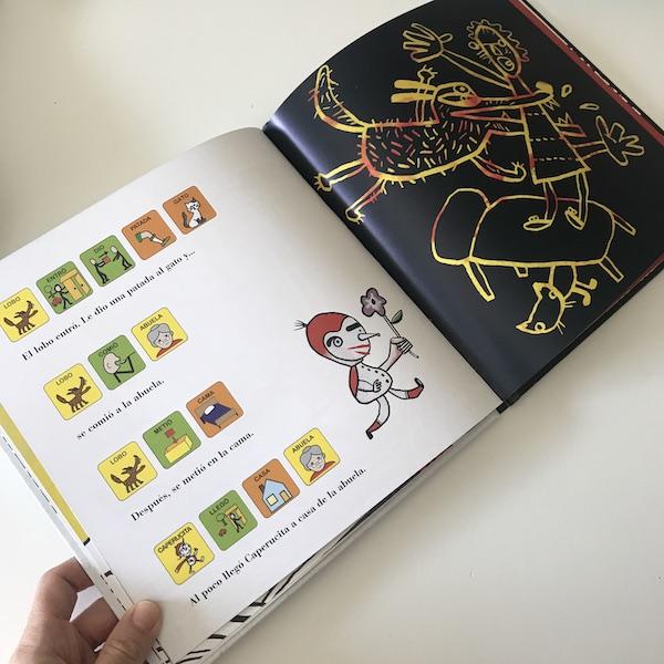 La verdadera historia de Caperucita Roja, texto Bata (2)
