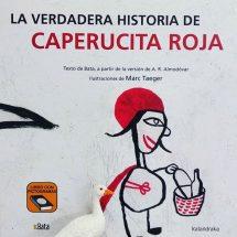 La verdadera historia de Caperucita Roja, texto Bata (portada)