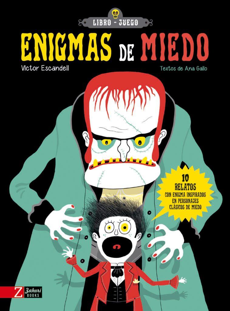 Enigmas de miedo (portada)