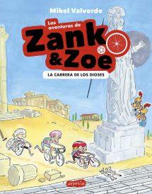 Las aventuras de Zank & Zoe - La carrera de los Dioses (portada)