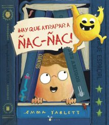 ¡Hay que atrapar a Ñac Ñac! (portada)