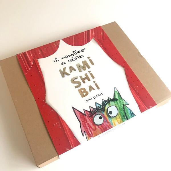 El Monstruo de Colores - Kamishibai (Caja)