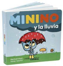 Minino y la lluvia (portada)