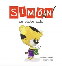 Simón se viste solo (portada)