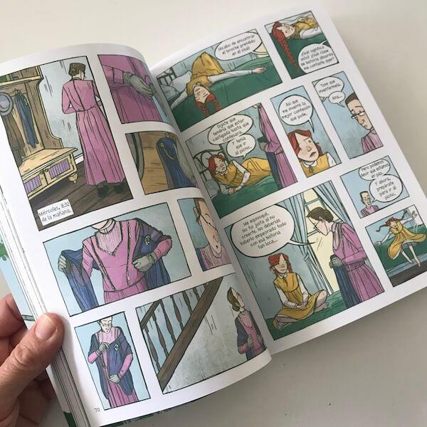 Ana de Las Tejas Verdes - Novela gráfica de Maeva Young (1)