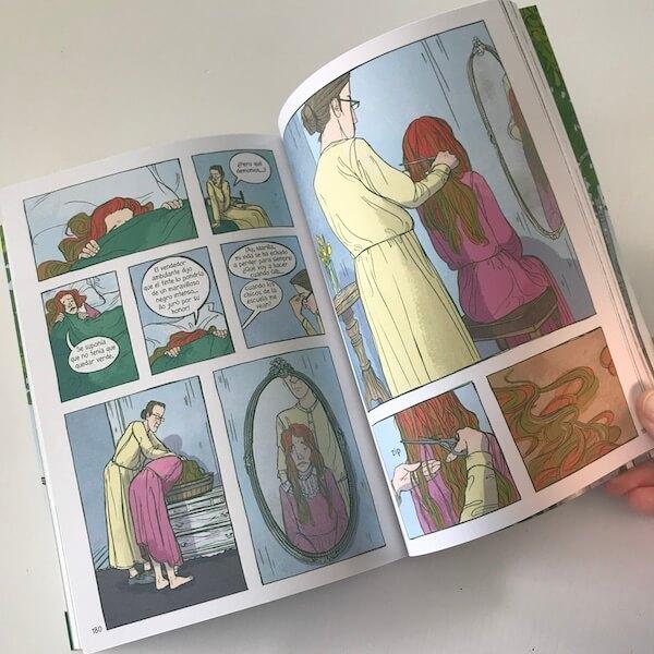 Ana de Las Tejas Verdes - Novela gráfica de Maeva Young (2)