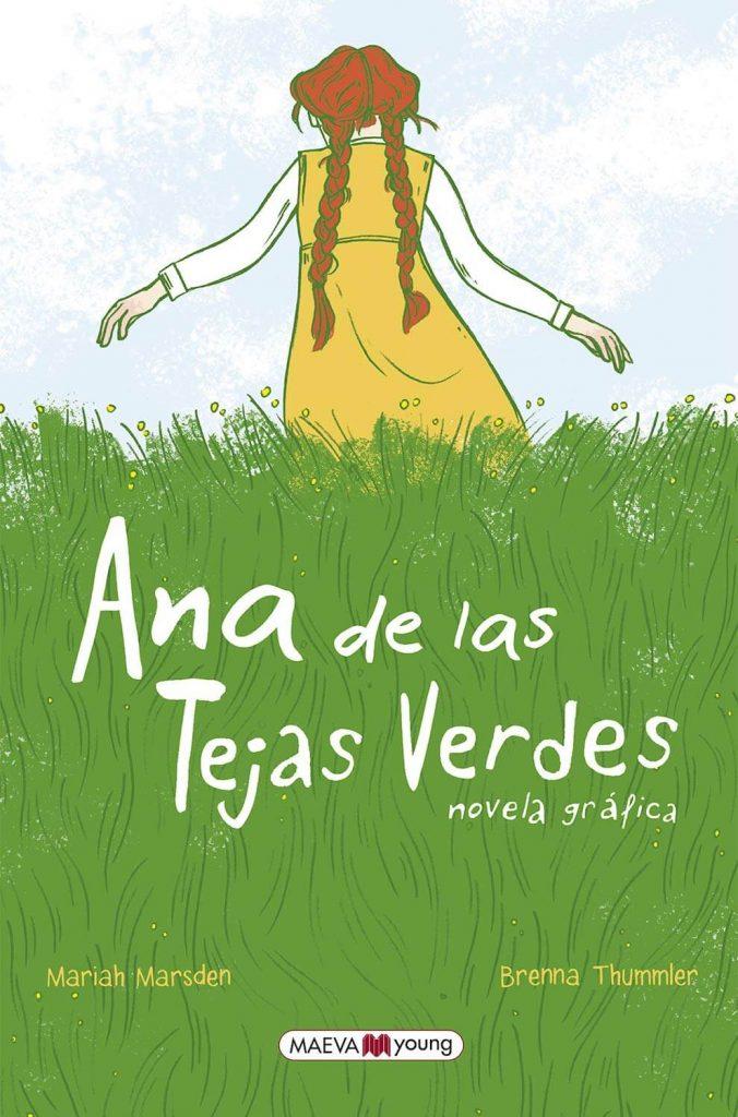 Ana de Las Tejas Verdes - Novela gráfica de Maeva Young (portada)