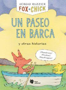 Fox + Chick: Un paseo en barca y otras historias (portada)