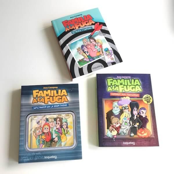 """Colección """"Familia a la fuga"""" de Ana Campoy"""