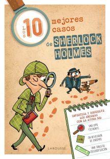 Los 10 mejores casos de Sherlock Holmes (portada)