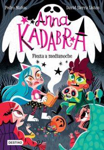 Anna Kadabra 4: Fiesta a Medianoche (portada)