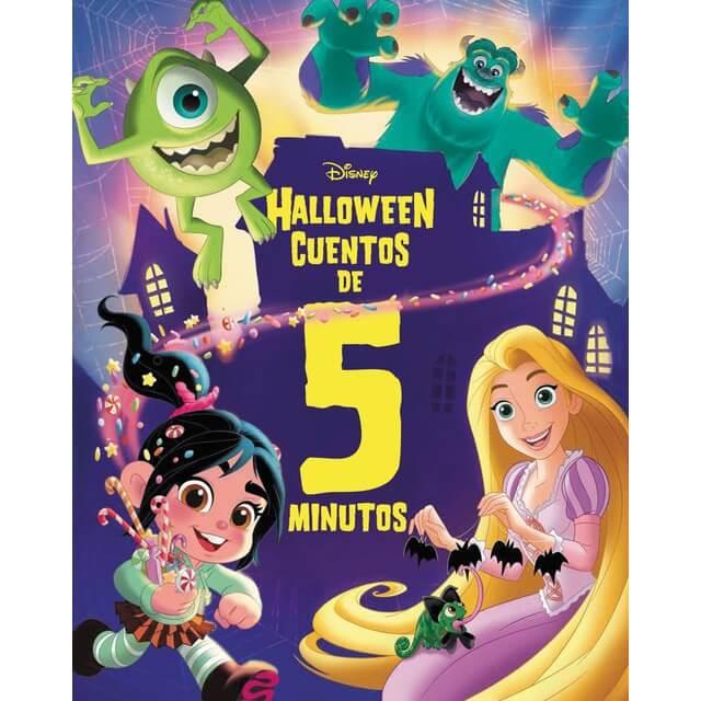 Disney: Halloween. Cuentos de 5 minutos (portada)