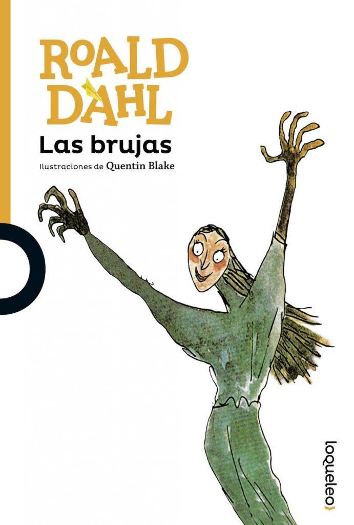 Las brujas, de Roald Dhal (portada)