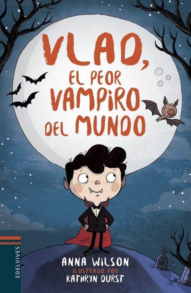 Vlao, el peor vampiro del mundo (portada)
