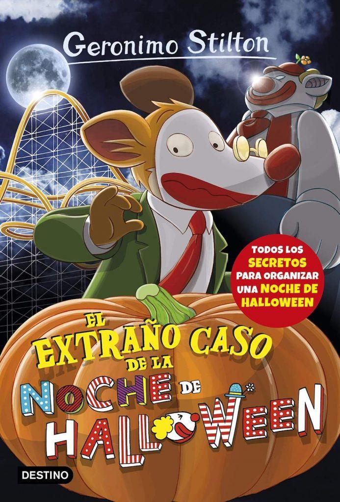 Gerónimo Stilton: El extraño caso de la noche de Halloween (portada)