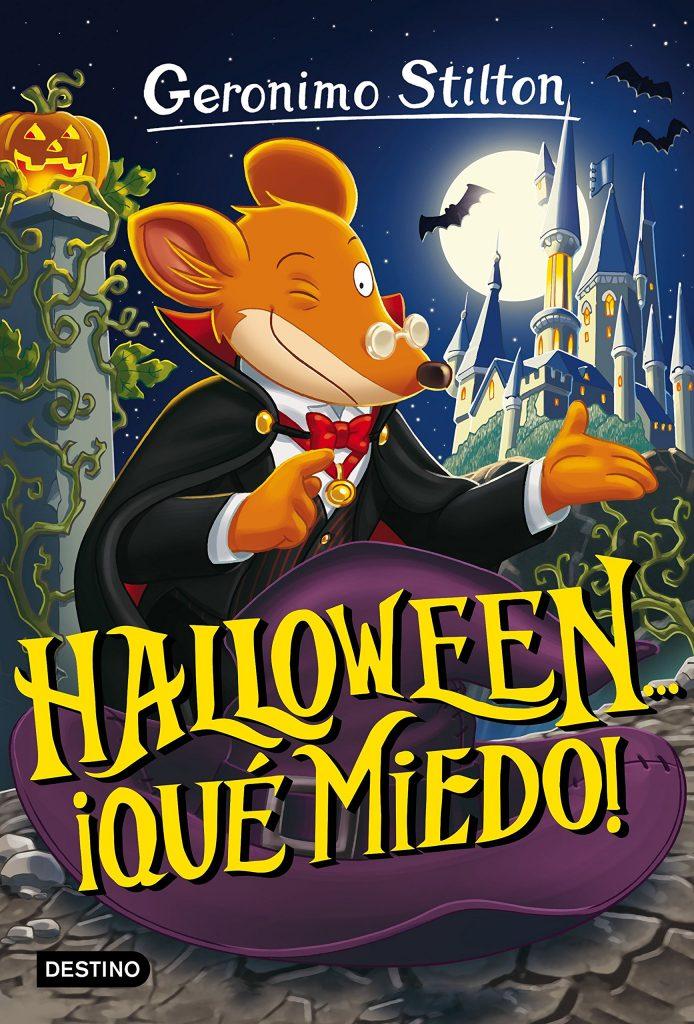 Geronimo Stilton: Halloween, ¡qué miedo! (portada)