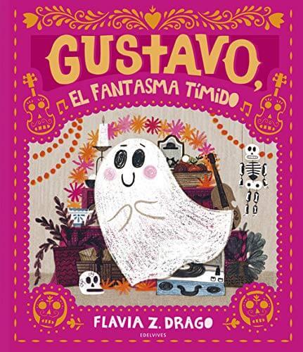Gustavo, el fantasma tímido (portada)