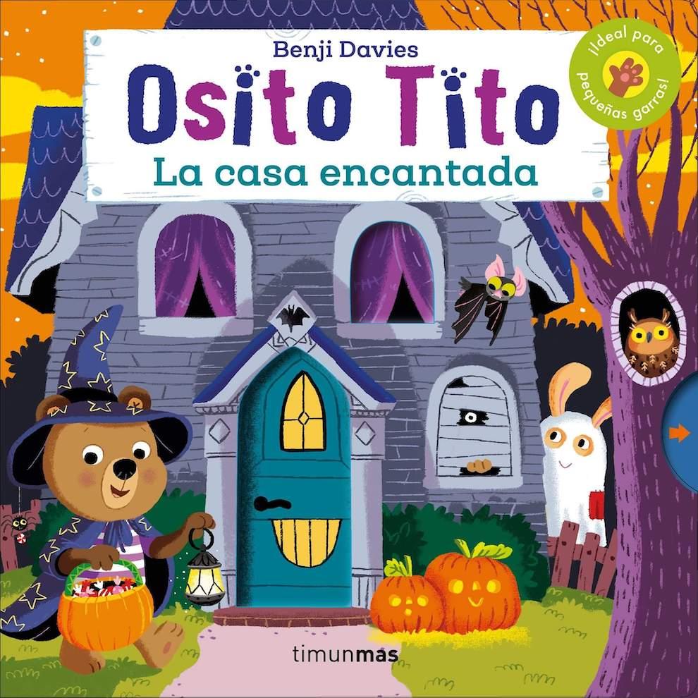Osito Tito: la casa encantada (portada)
