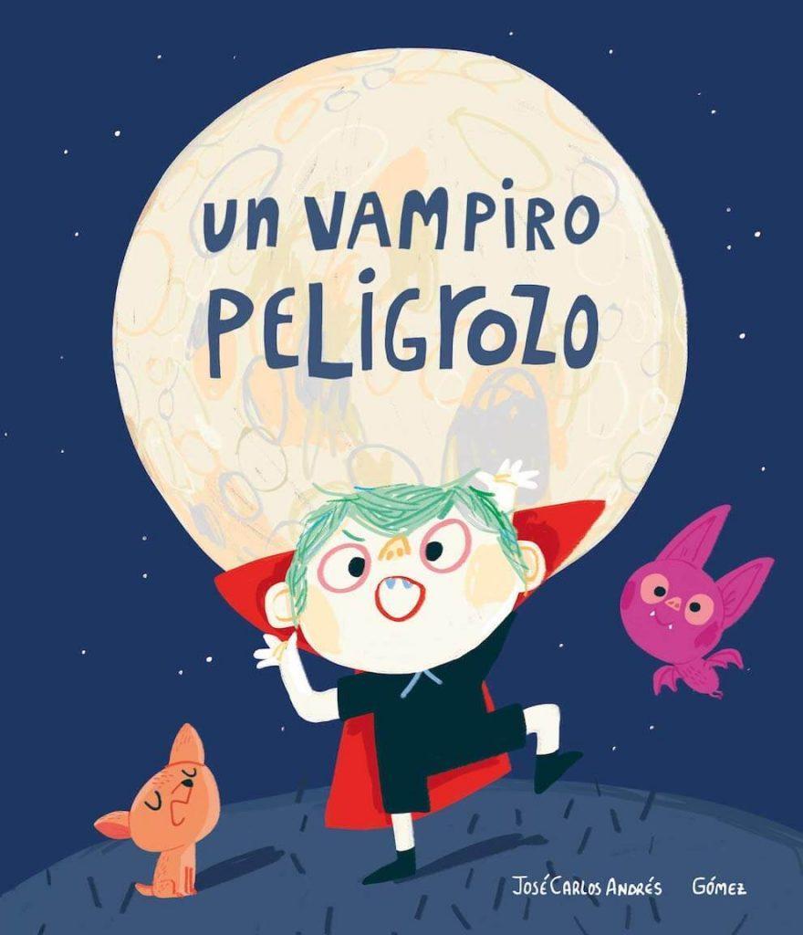 Un vampiro peligrozo (portada)