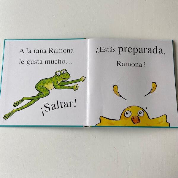 La rana Ramona da un gran salto (1)