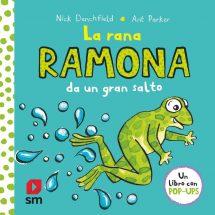 La rana Ramona da un gran salto (portada)