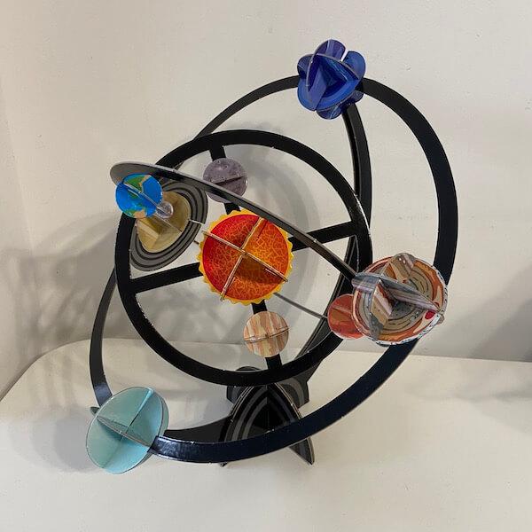 Construyo el sistema solar, Larousse (maqueta)
