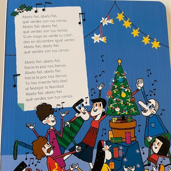 El árbol de Navidad paso a paso (detalle)