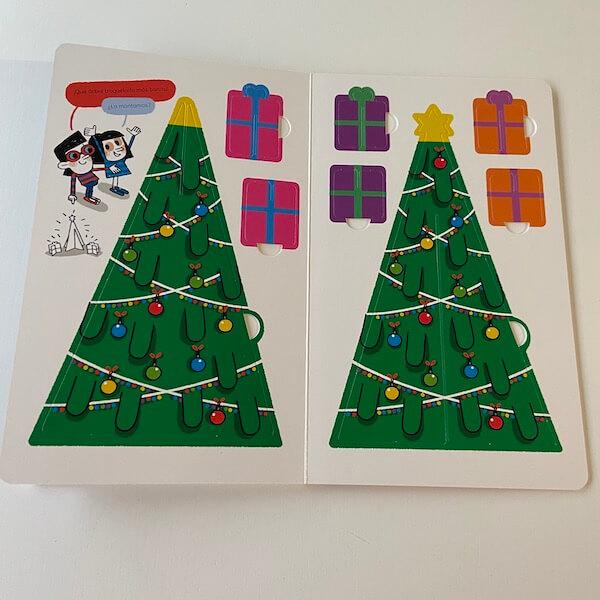 El árbol de Navidad paso a paso (troquelados)
