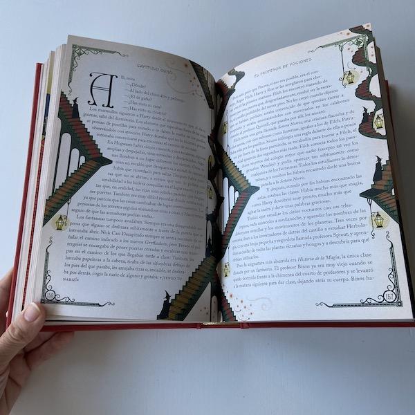 Harry Potter y la piedra filosofal edición Minalima (interior 2)