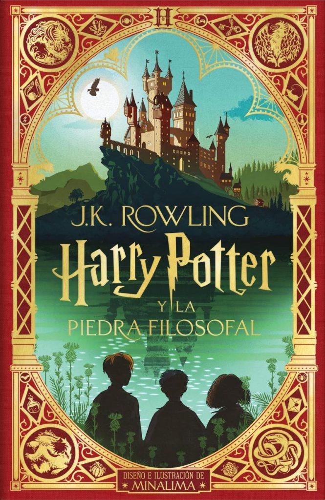 Harry Potter y la piedra filosofal edición Minalima (portada)