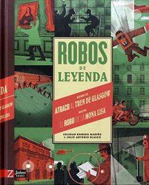 Robos de leyenda (portada)