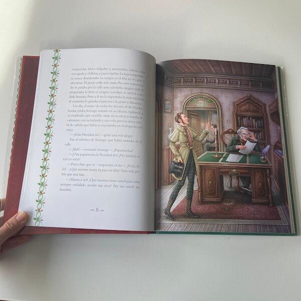 Canción de Navidad - edición conmemorativa de Anaya (1)