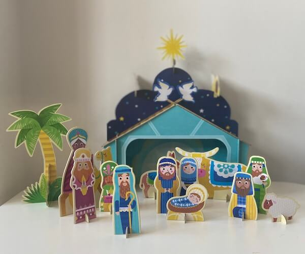 La Historia de la Navidad (Belén montado)