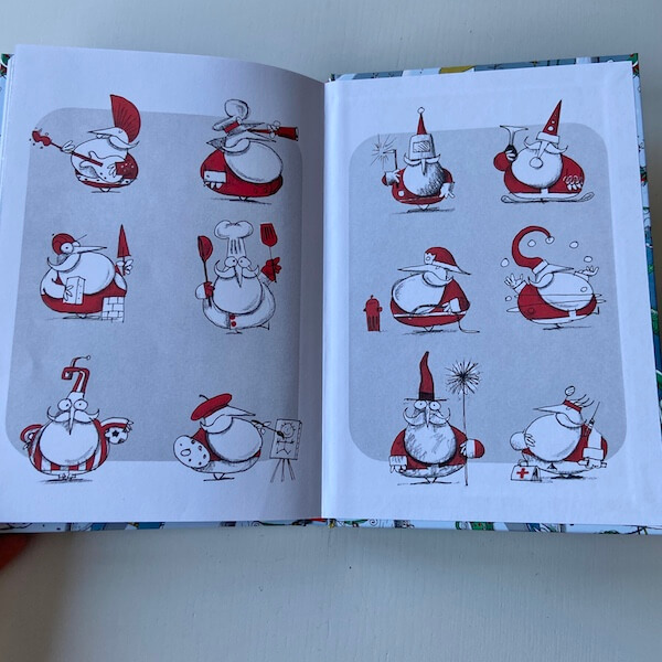 El nuevo trabajo de Papá Noel (guardas)