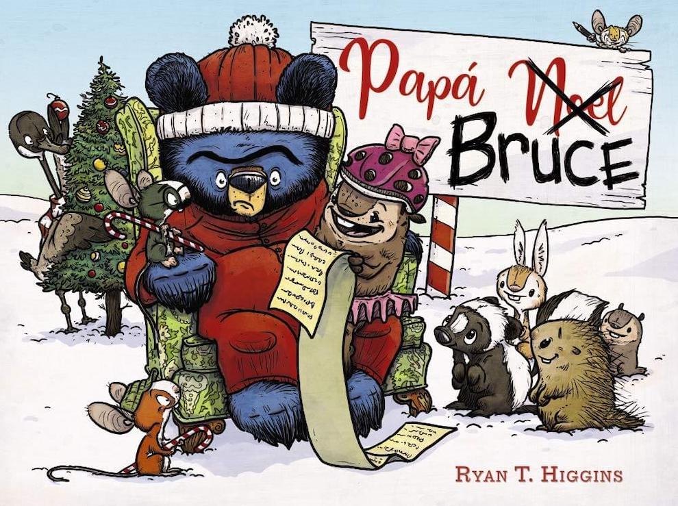 Papá Noel Bruce (portada)