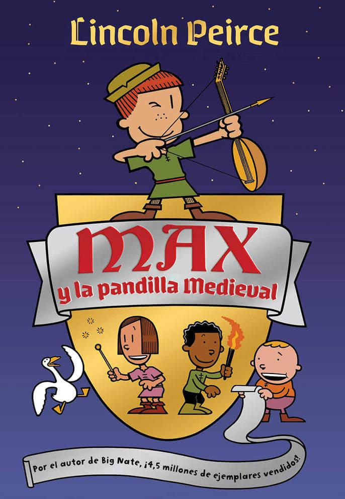 Max y la pandilla medieval (portada)